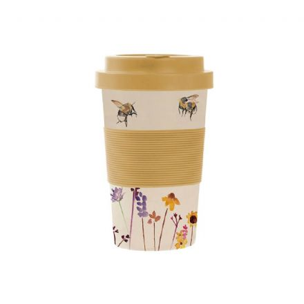 Busy Bees Eco Friendly Bamboo Travel Mug